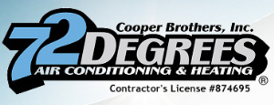 72 Degrees Cooper Brothers Logo