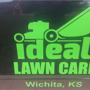 Ideal Lawn Care Logo