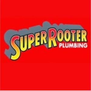Super Rooter Man Plumbing Logo