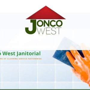 Jonco West Janitorial Service Logo
