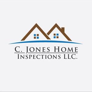 C. Jones Home Inspection LLC. Logo