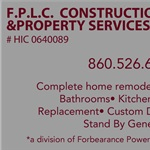 Forbearance Construction & Property Services Logo