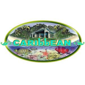 Caribbean Landscape Nursery Construction Logo