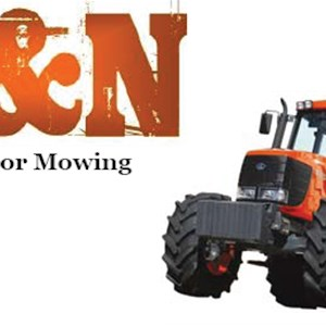 B & N Tractor Mowing Cover Photo
