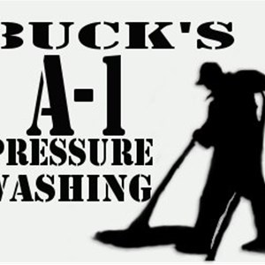 Bucks A1 Pressure Washing Logo
