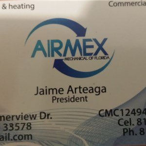 Airmex Mechanical of Florida Logo