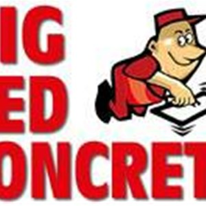 Big Red Concrete Cover Photo