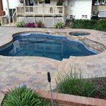 Pressed Concrete Patio