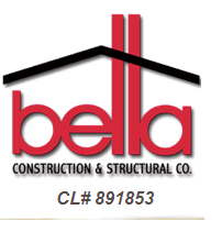 Bella Construction & Structural Co. Logo