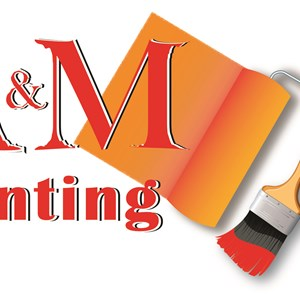 A&m Painting Logo