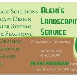 Alexis Landscape Service Cover Photo