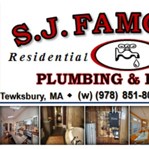Famolare S J Plumbing & Heating Logo