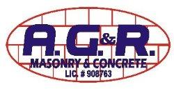 A G & R MASONRY & CONCRETE Logo