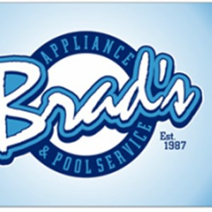 Brads Appliance & Pool Service Logo