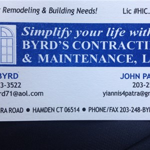 Byrds Contracting and Maintenance, LLC Cover Photo