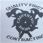 Quality First Contracting Logo