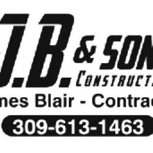 Jb and Sons Construction Co Logo
