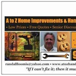 A to Z Home Improvements & Handyman Services Logo