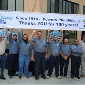 Powers Plumbing Logo