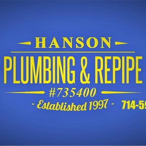 Hanson Plumbing & Repipe Cover Photo