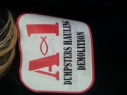 A-1 Dumpsters & Hauling Logo