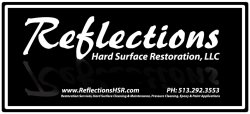 Reflections Hard Surface Restoration, LLC Logo