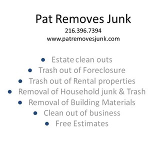 Pat Removes Junk LLC Logo