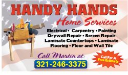 Handy Hands Home Services Logo