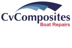 Cv Composites Boat Repair Logo