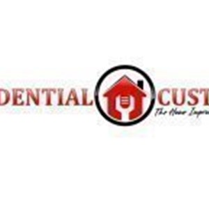 RESIDENTIAL CUSTOMS The Home-Improvement Specialist Logo