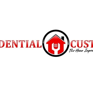 RESIDENTIAL CUSTOMS The HomeImprovement Specialist Logo