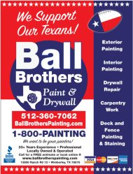 Ball Brothers 1-800-painting Logo