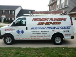 Piedmont Plumbing Service Logo