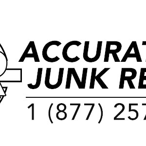 Accurate Junk Removal Logo