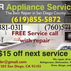 Br Appliance Service San Diego Cover Photo