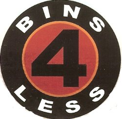 Bins 4 Less Logo