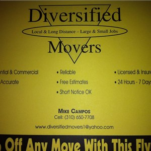 Diversified Movers Cover Photo