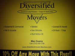 Diversified Movers Logo