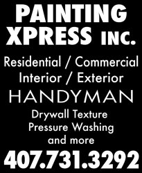 Painting X-press Inc. Logo