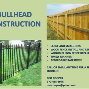 BULLHEAD CONSTRUCTION Logo