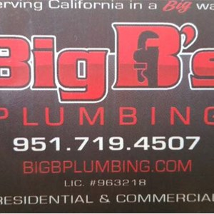 Big Bs Plumbing Cover Photo