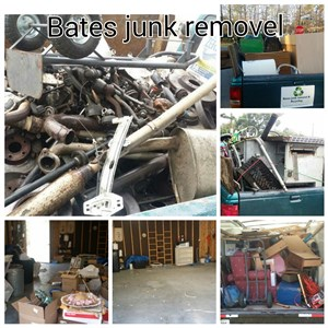 Bates Junk Removal & Recycling Company Logo