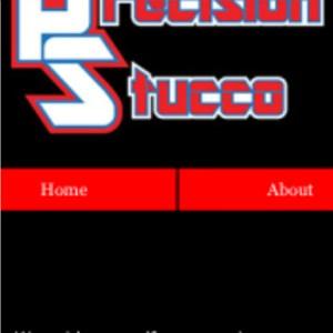Precision Stucco Logo