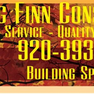 Big Finn Construction Logo