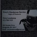 Corys Handyman Service Cover Photo