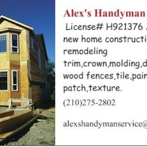 Alexs Handyman Service Cover Photo