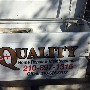 A+ Quality (home Repair & Maintenance) Logo