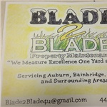 Blade 2 Blade Property Maintenance Logo