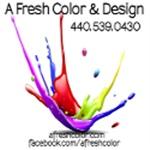 A Fresh Color & Design Logo
