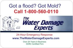 WATER DAMAGE EXPERTS INCORPORATED Logo
